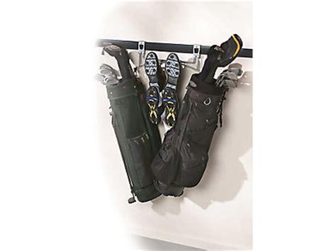 golf bag rack discontinued rubbermaid