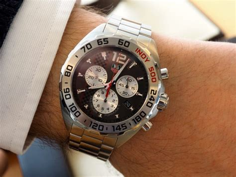 Tagheuer Indy Chronoraph For look tag heuer formula 1 indy 500 edition the