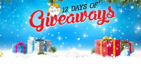 12 Days Of Giveaway Ellen - ellen s 12 days of giveaways all special links you need winzily