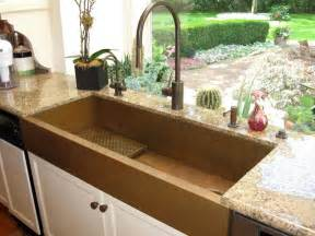 large copper apron front sink by rachiele eclectic kitchen sinks other metro by rachiele