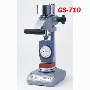 Hardness Tester Teclock teclock constant pressure load instrument gs 710 ydbay