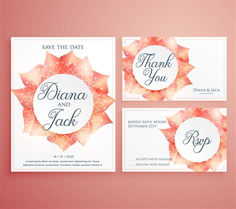 beautiful invitation card templates save the date wedding invitation card template beautiful