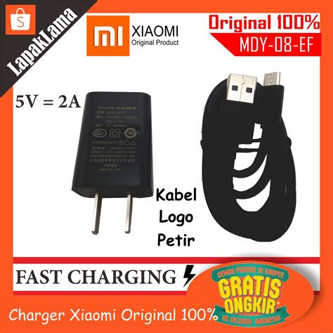 Best Original 100 Charger Hp Xiaomi 2a charger hp xiaomi 2a original ori 100 chargeran kabel data 100 ori charger shopee indonesia