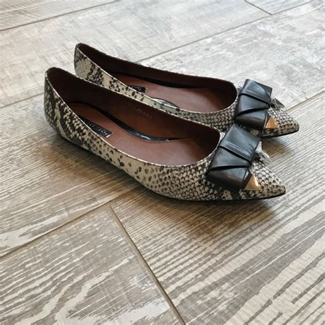 staccato flat shoes 70 staccato shoes staccato leather with snake print