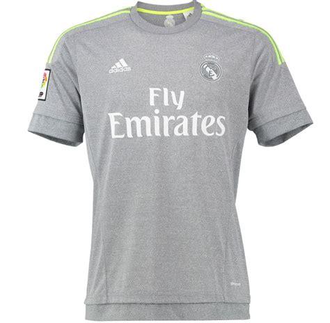 Real Madrid 2015 16 Away Bnwt Kroos Wcc 2014 Original Jersey maillot de foot real madrid exterieur 2015 2016 gris