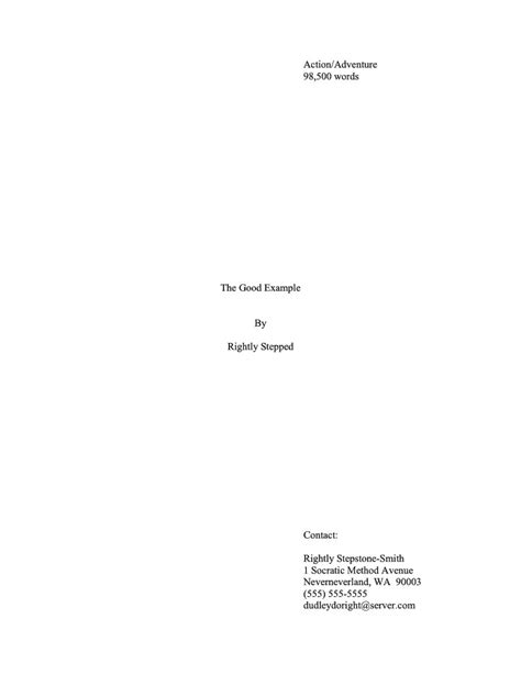 cover page example for essay good resume format