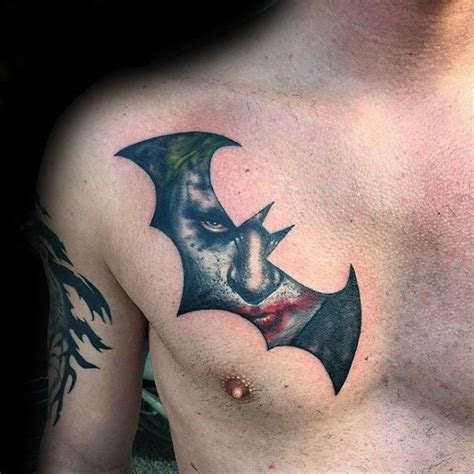 joker batman tattoo designs joker tattoos for men joker tattoo and 50th