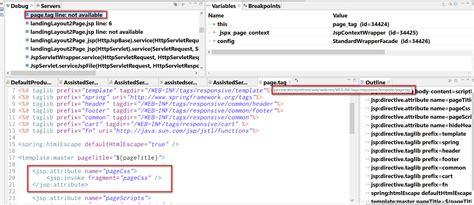 layout jsp tag sap abap central jsp attribute tag used in hybris ui