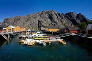 Small Country Home flakstad island nusfjord fishing village lofoten
