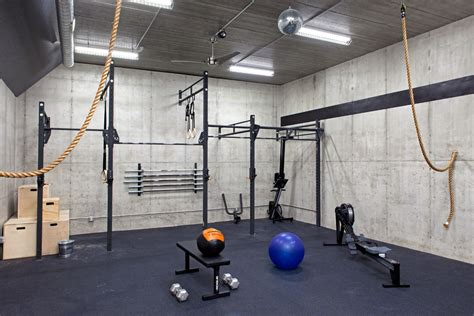 home storage ideas home industrial with weight room crossfit studio