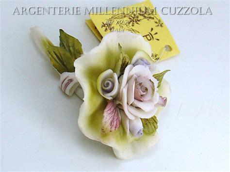 mazzolino di fiori di co bomboniere fiori matrimonio ceramica mazzolino