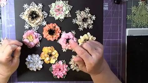 Heartfelt Handmade - how to do paper flowers with heartfelt creations