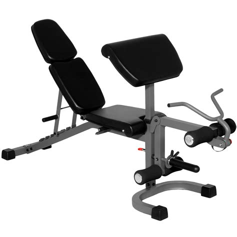 weight bench with preacher curl xmark flat incline decline fid bench with preacher curl
