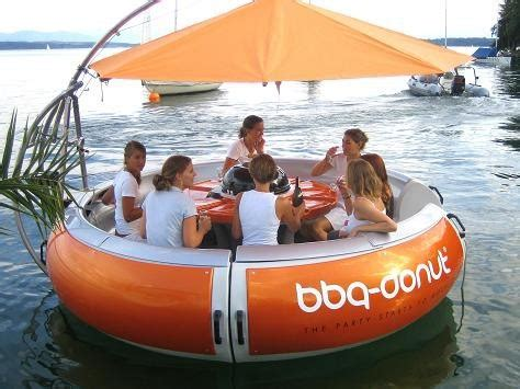floating boat bbq floating bbq boat how fun 171 yapins