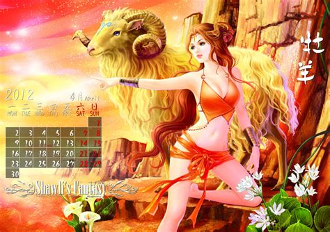 Aries Calendar Aries Calendar By Shawli2007 On Deviantart