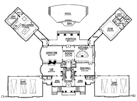 plan 12202jl gilded age mansion 2nd floor home design and gatsby