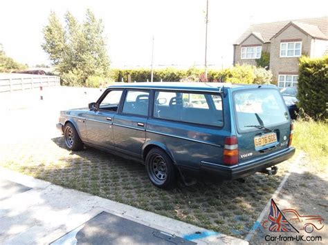 Sleeper Car For Sale by 1990 G Volvo 240 Estate Turbo Lots Of Custom Parts
