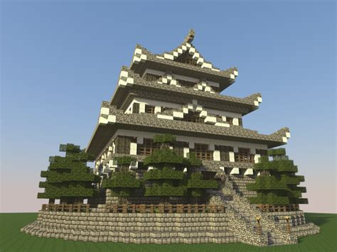 How about some Eastern Architecture? Japanese Castle main