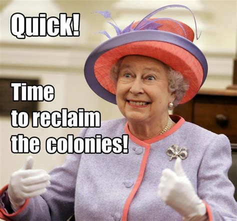 The Queen Meme - us government shutdown becomes an internet joke voices