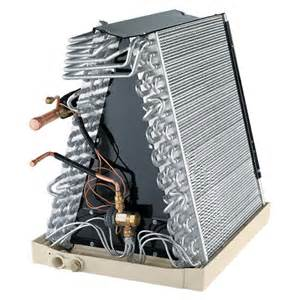 heating coil evaporator coil central heating air in