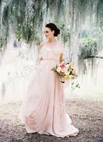 Blush Bridal An Alternative To Ivory 10 Inspiring Blush Wedding