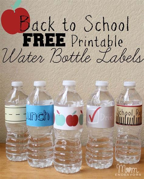 printable drink labels convenient fun drinks for back to school lunches with