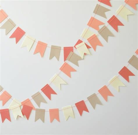 How To Make Paper Bunting Garland - paper garland triangle bunting