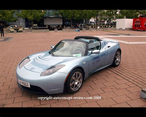 Tesla Electric Car Review Tesla Electric Roadster 2009