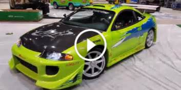 Paul Walker Mitsubishi Eclipse The Cult Fast And Furious Eclipse For Sale One Of The