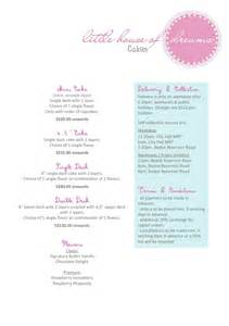 Cake Price List Template by Cake Price List Template Cake Price List Template