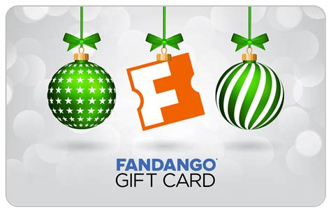 Fandango Redeem Gift Card - holiday gift cards
