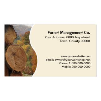tree removal business card templates tree cutting business cards templates zazzle