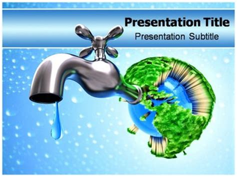 saving powerpoint templates saving water powerpoint templates and backgrounds
