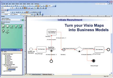 bpmn 2 0 modeler for visio interfacing bpmn modeler 6 0 for microsoft visio