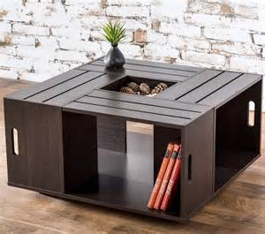 wine crate coffee table diy ideas