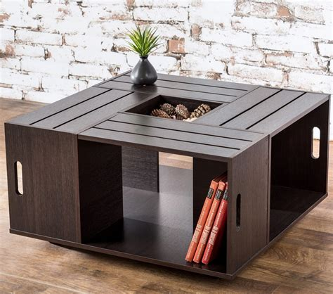 Diy Wooden Crate Coffee Table by Wine Crate Coffee Table Diy Ideas