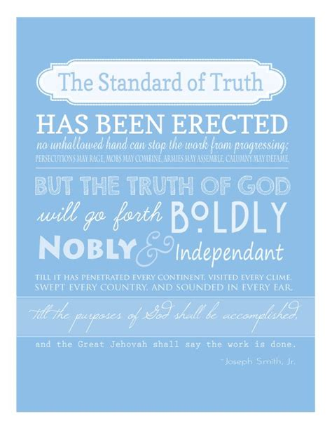 printable missionary quotes 25 best ideas about joseph smith on pinterest joseph