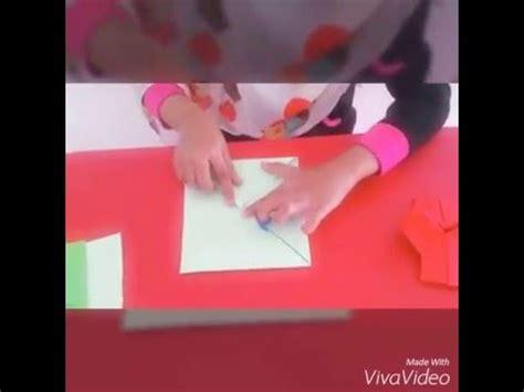 youtube membuat origami bintang jom belajar membuat origami kamera bersama cikgu bintang