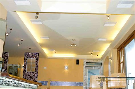 interior spotlights home hovering ceiling design idea with led lights and