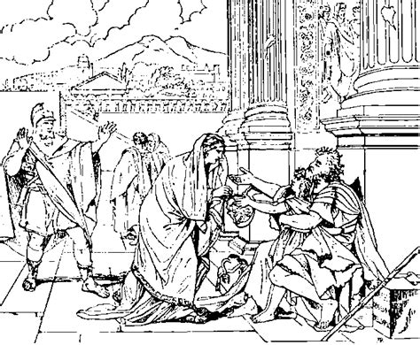ancient roman villa coloring page coloring pages