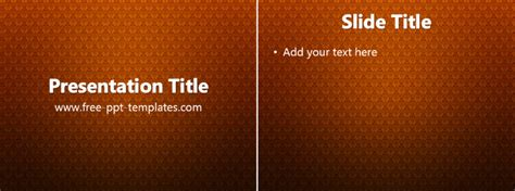 classic ppt template free powerpoint templates