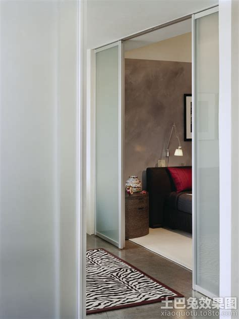Bedroom Doors With Glass Panels 家装磨砂玻璃门设计图片 土巴兔装修效果图