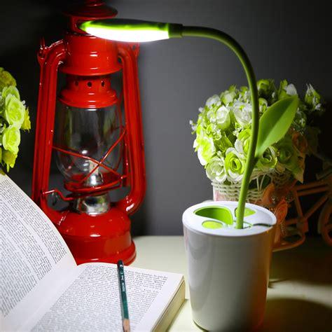 Meja Belajar Desk Blue touch sensitive dimmable usb led desk l with pen holder