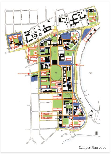 Olympia Floor Plan context planning campus management the university of