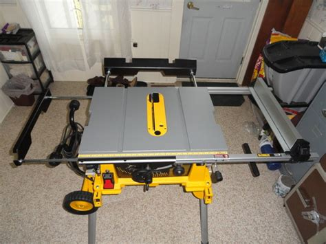 table saw injury helpline dewalt dw7441 side and outfeed support on popscreen