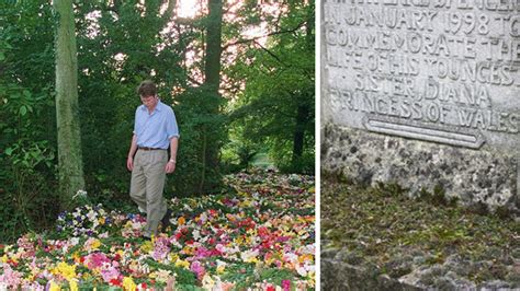 princess diana s grave princess diana s neglected memorial set for facelift