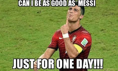 funny messi and ronaldo memes european football epl