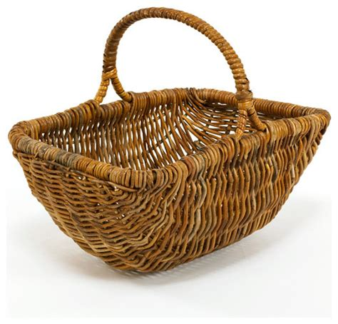 country baskets cottage rattan picking basket country baskets by