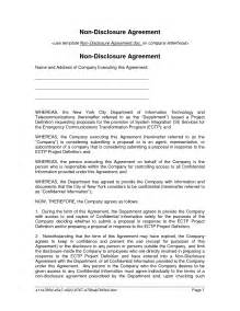 Employee Confidentiality Agreement Template Free best photos of employee confidentiality agreement template