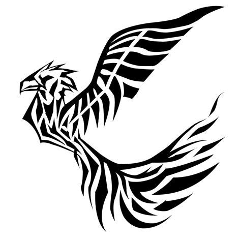 duck tribal tattoo bird tribal